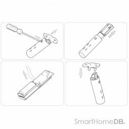Aeotec Recessed Door Sensor Dsb54 Specs Smart Home Db